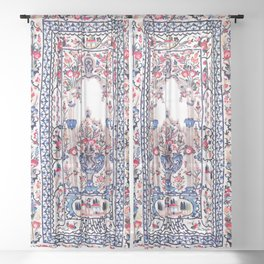 Banya Luka Bosnian Wall Hanging Print Sheer Curtain