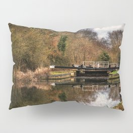 Above Sulhamstead Lock On The K&A Pillow Sham