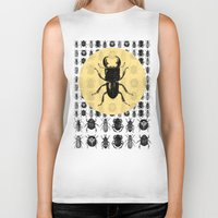 bugs Biker Tanks featuring Bugs Pattern by DIVIDUS
