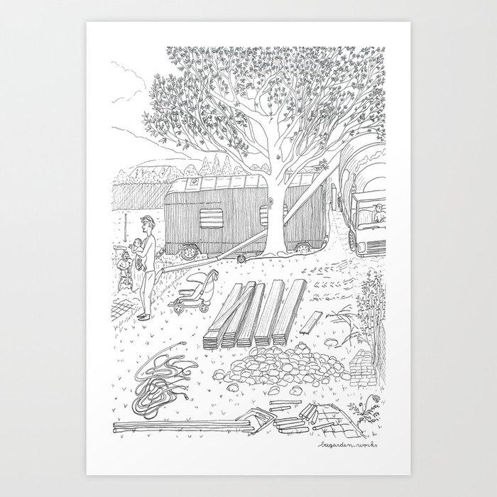 beegarden.works 015 Art Print