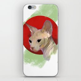 Sphinx Cat iPhone Skin