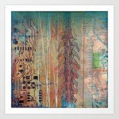 circuitry Art Print