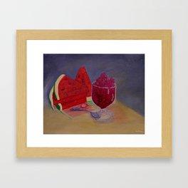 Summer Delight Framed Art Print
