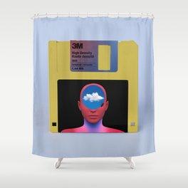 Floppy Fantasy Shower Curtain