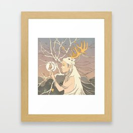 Dear Lost Memory, Where Have You Been? Framed Art Print