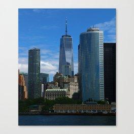 Manhattan One World Trade Center Canvas Print