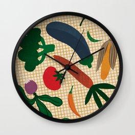 Market Day Wall Clock