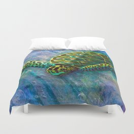 Into The Deep Duvet Cover