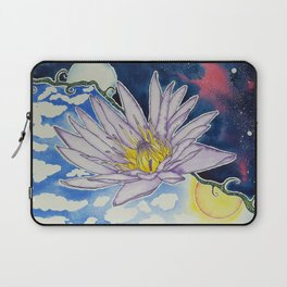 Night and Day Water Lily Laptop Sleeve