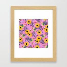 Caitlin Loves Nature Framed Art Print