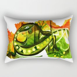 Gecko Rectangular Pillow
