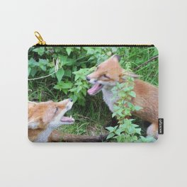 'Face Off' Carry-All Pouch
