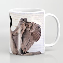 Mated Pair of Canadian Geese by Reay of Light Photography Coffee Mug