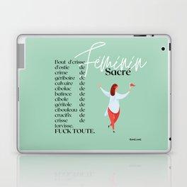 Féminin sacré Laptop & iPad Skin