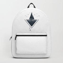 Ship. Geometric Style Backpack