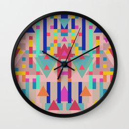 Color Power 1 Wall Clock