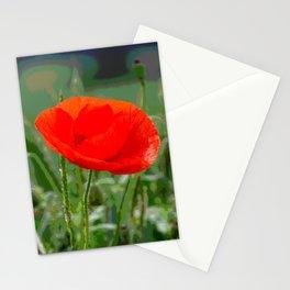Poppy II Stationery Cards