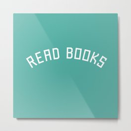 Read Books Metal Print