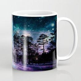 One Magical Night... teal & purple Coffee Mug