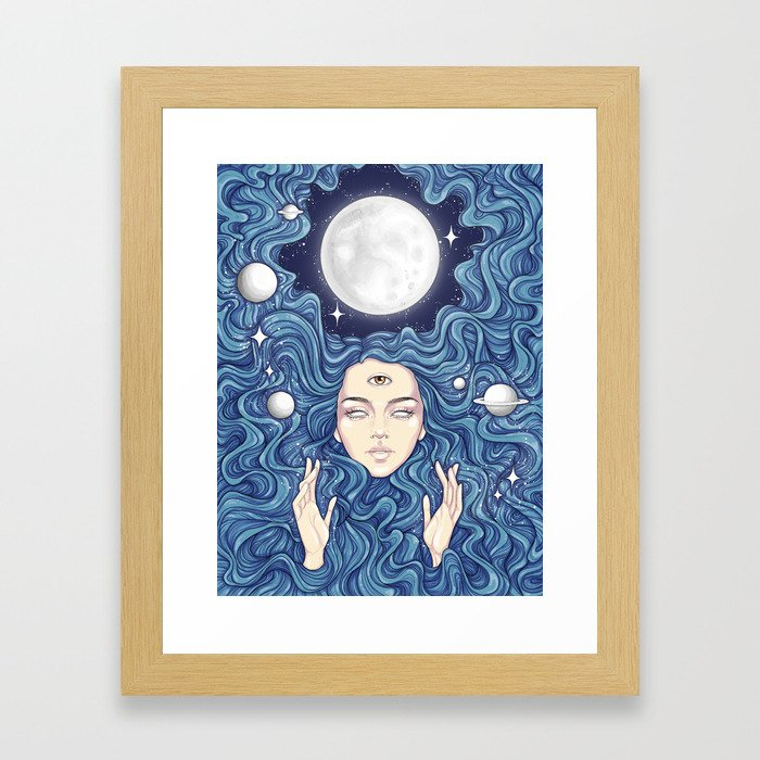 Trippy Chicks Framed Art Print
