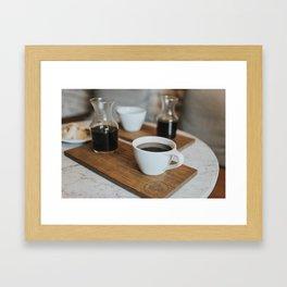 Coffee Print Framed Art Print