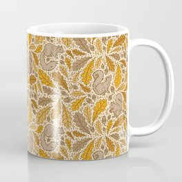 Oak & Squirrels | Autumn Yellows Palette Coffee Mug