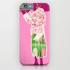 Floral Coat Pink iPhone 6s Slim Case