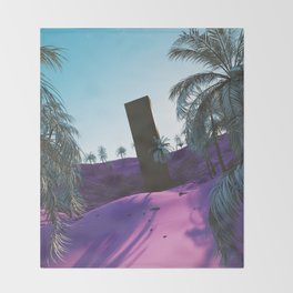 Palm King Throw Blanket