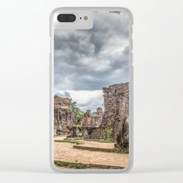 My Son Ruins Clear iPhone Case