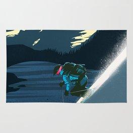 Revelstoke skiing Rug