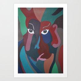 Abstract God Art Print