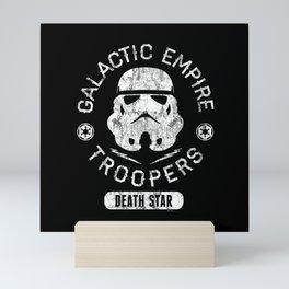 """Galactic Empire Troopers"" by Josh Ln Mini Art Print"