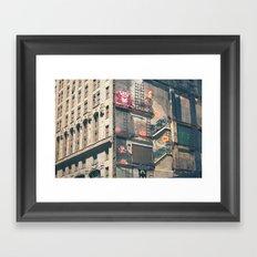 Building Kong Framed Art Print