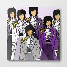 Prince Revolution Doodle Metal Print