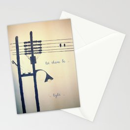Let there be light... Stationery Cards