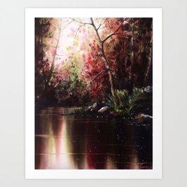 Inner Reflection Art Print