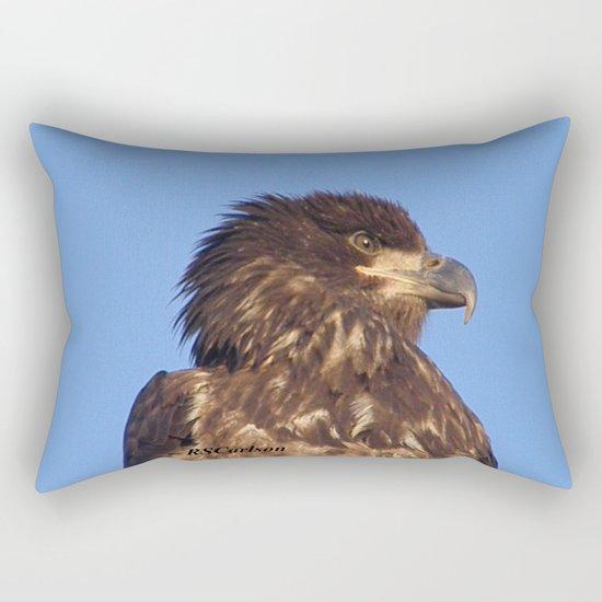 Golden Eagle on the Kenai Rectangular Pillow
