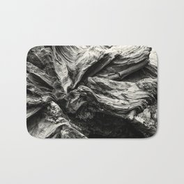 Sequoia Abstract, No. 1 bw Bath Mat