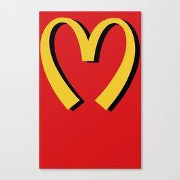 McDonald's MOSCHINO Canvas Print