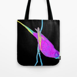 Swift Green Parrot Tote Bag