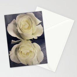 Blue Jean Roses Stationery Cards