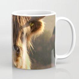 Young Highland Cow Coffee Mug