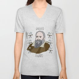 Physics - Galileo Unisex V-Neck