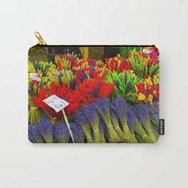 Market Flowers - L'Isle-sur-la-Sorgue France Carry-All Pouch