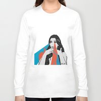 kardashian Long Sleeve T-shirts featuring OMG! by Futurlasornow