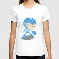 mega man T-shirts featuring Mega Man by Rod Perich