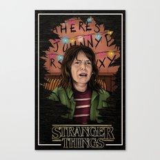 Joyce Stranger Things Canvas Print
