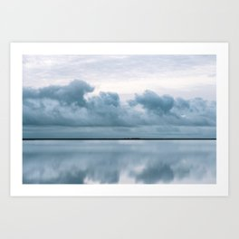 Epic Sky reflection in Iceland - Landscape Photography Art Print