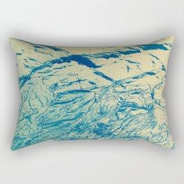 Topo Zoom AZ Rectangular Pillow