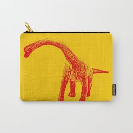 Vintage Toy Dinosaur  |  Brontosaurus Carry-All Pouch